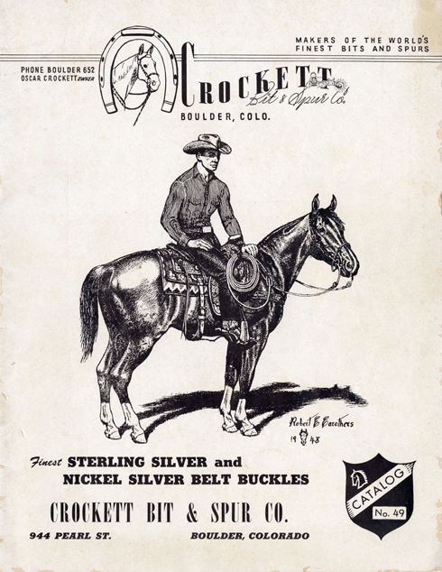 Lot52-Crockett Bit & Spur Catalog