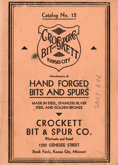 Lot256-Reprint Crockett Spur Catalogue
