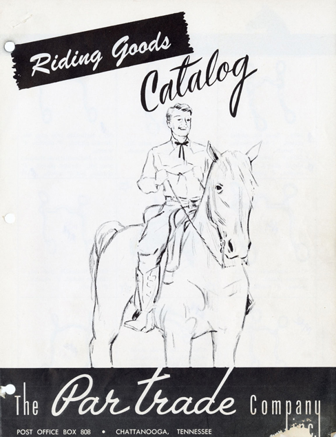 Lot280-Par Trade Company Riding Goods Catalogue