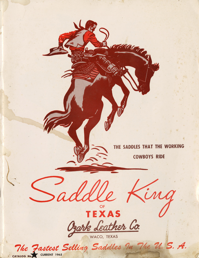 Lot341-Saddle King of Texas Catalog
