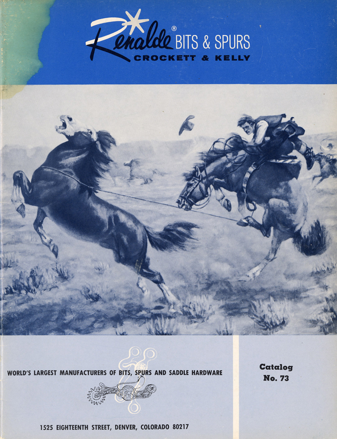 Lot406-Renalde Crockett & Kelly Bits and Spur Catalog