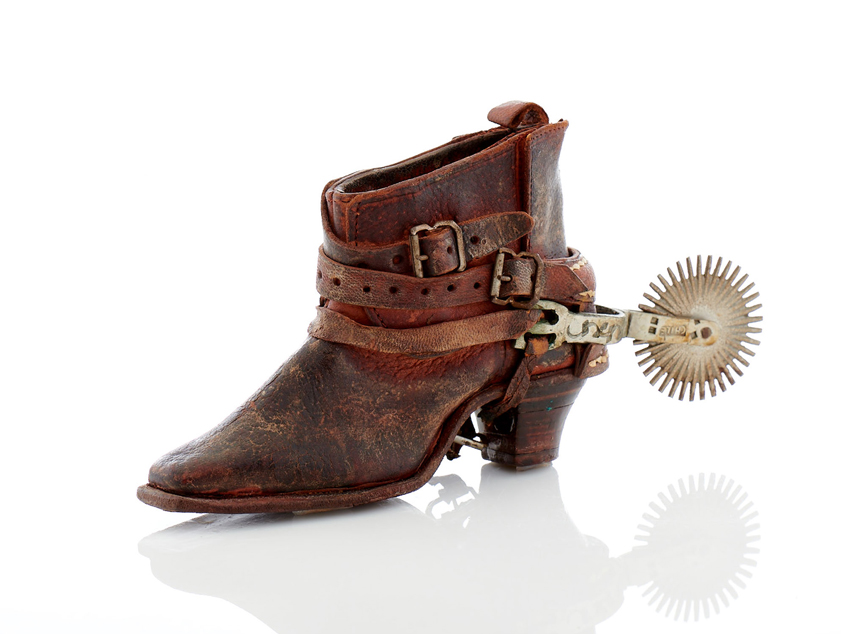 Lot25-Miniature Chilean Boot & Spur