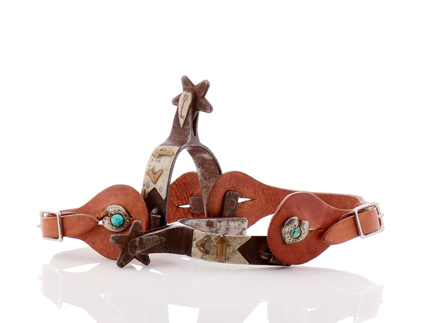 Lot61-American Indian Spurs