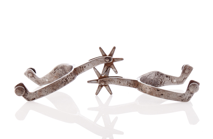 Lot189-Prison-Made Spurs