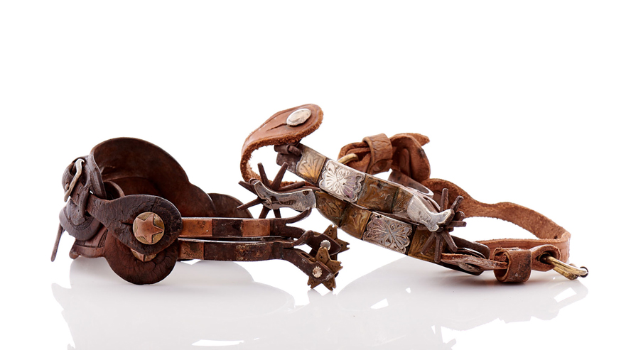 Lot235-Prison Made Spurs