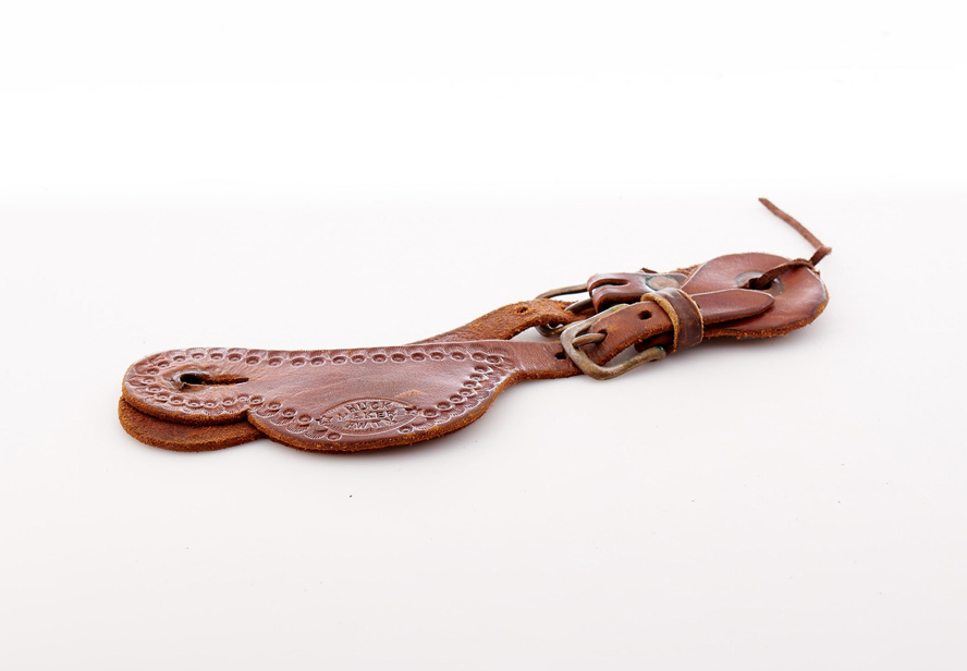Lot246-Spur Leather Strap
