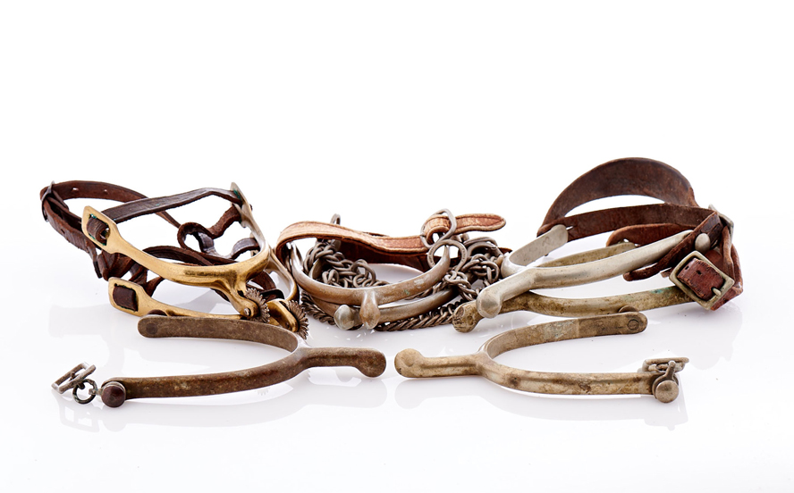 Lot264-Buermann Cavalry Spurs