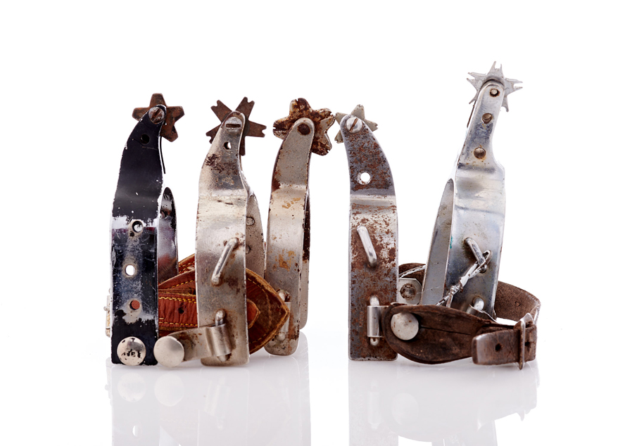 Lot334-Rodeo Spurs