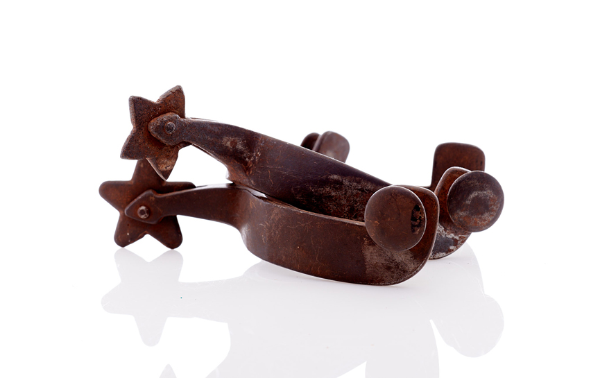Lot354-Early Cowboy Spurs