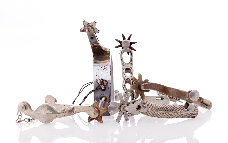 Lot356-Interesting Set of Spurs
