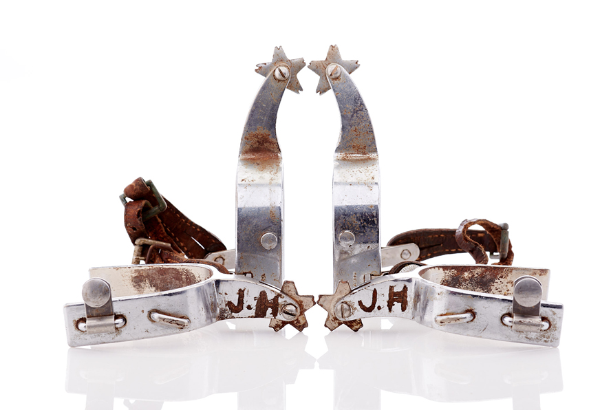 Lot358-Rodeo Spurs