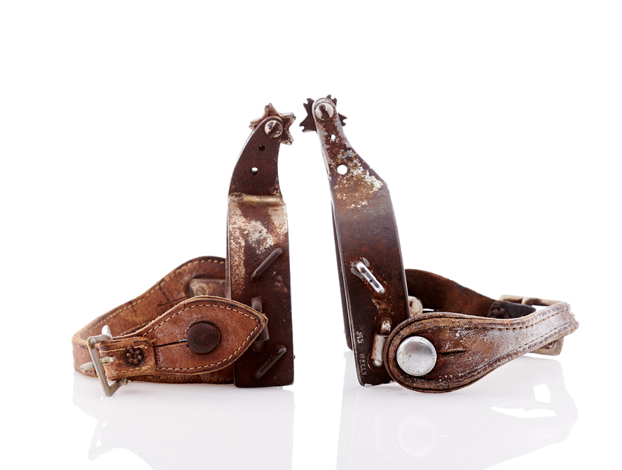 Lot359-Kelly Rodeo Spurs