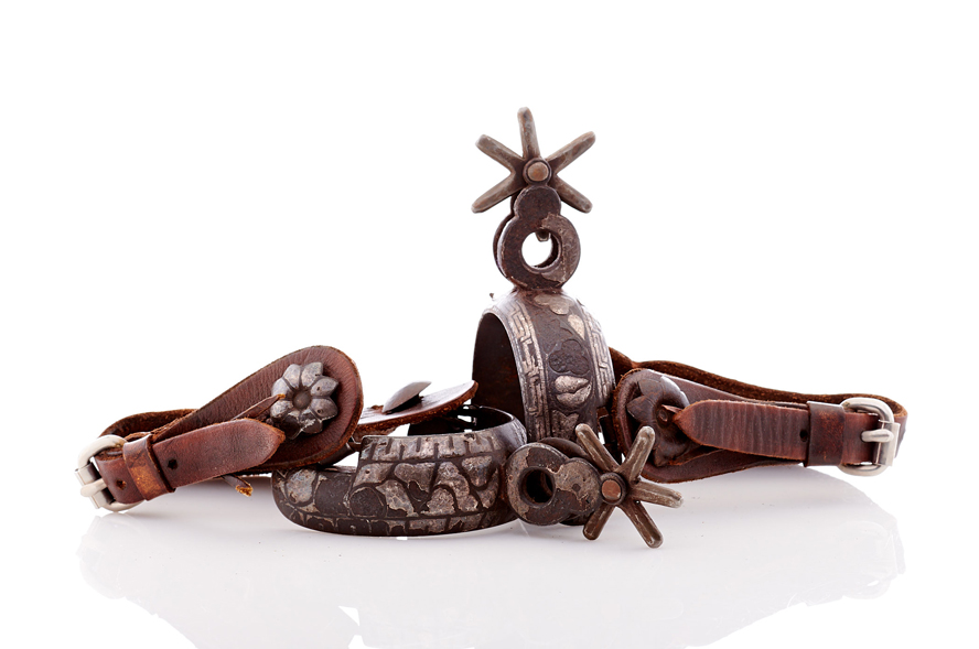Lot361-Mexican Charro Spurs