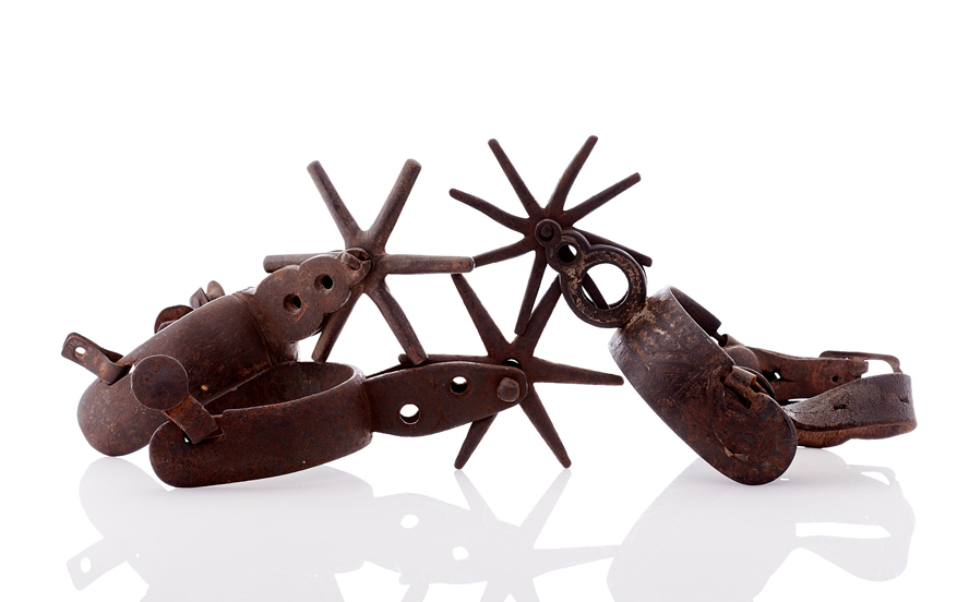 Lot371-Mexican Spurs