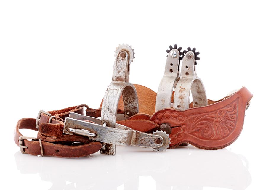 Lot394-Cowboy Spurs