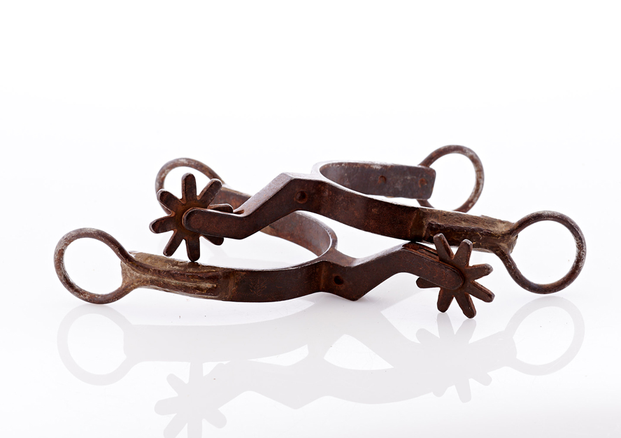 Lot407-Shop Made Spurs
