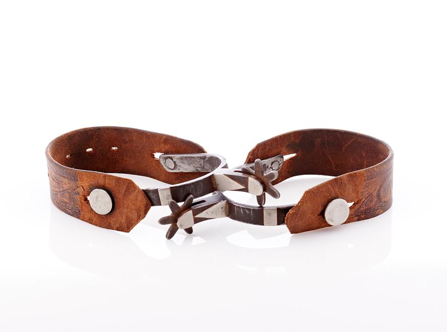 Lot439-Cowboy Spurs
