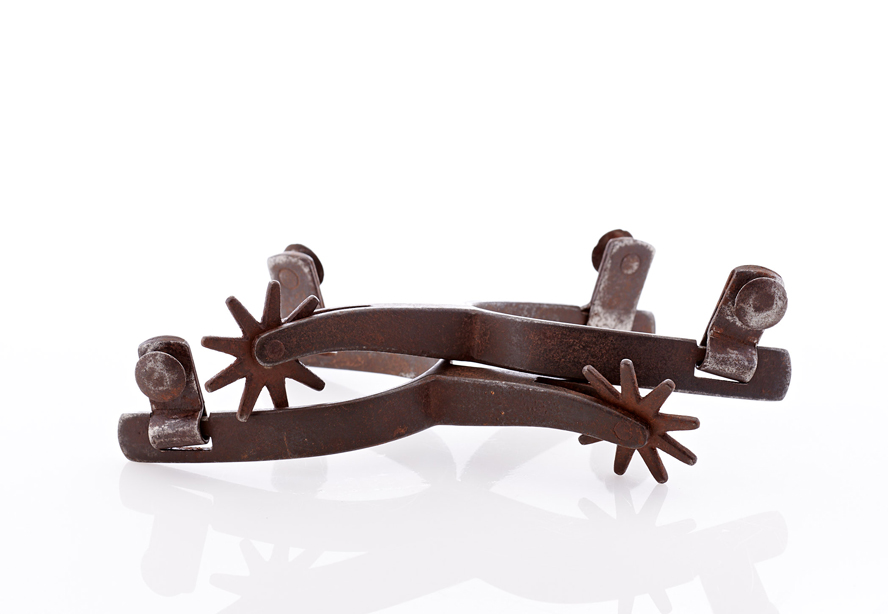 Lot462-Iron Cowboy Spurs