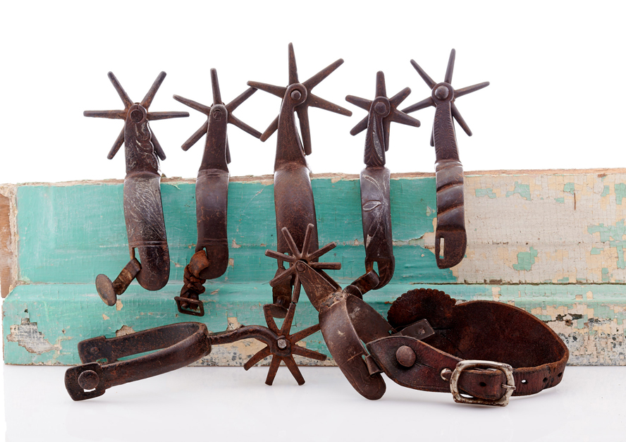 Lot468-Mexican Spurs