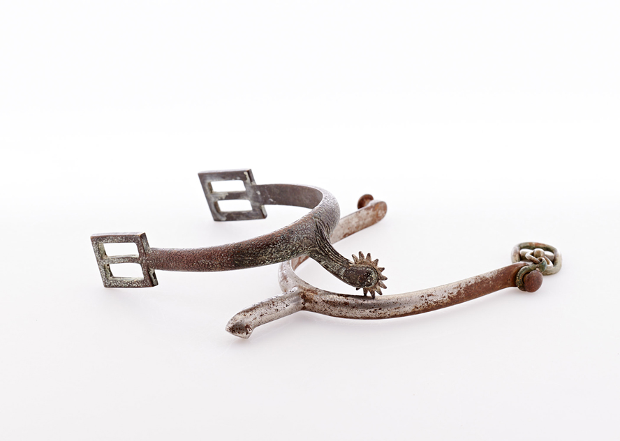 Lot483-Cavalry Spurs