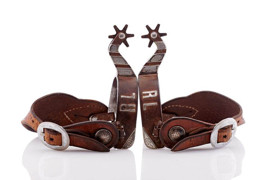 Lot496-Cowboy Spurs