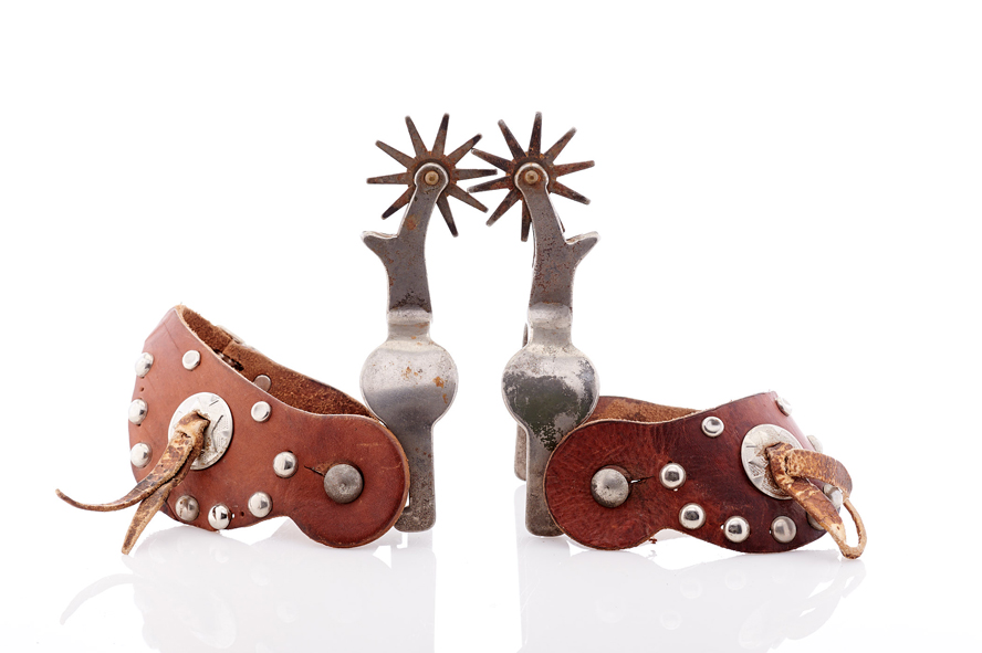 Lot500-Quality Cowboy Spurs