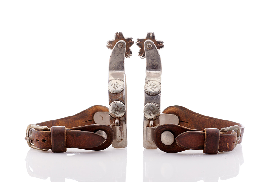 Lot517-Swastika Spurs