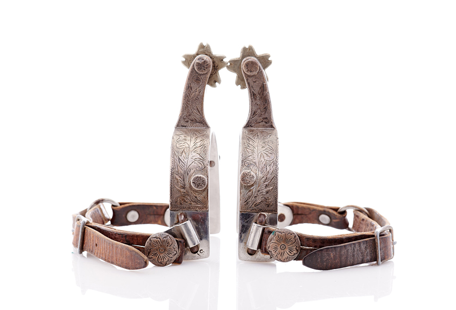 Lot520-Decorative Cowboy Spurs